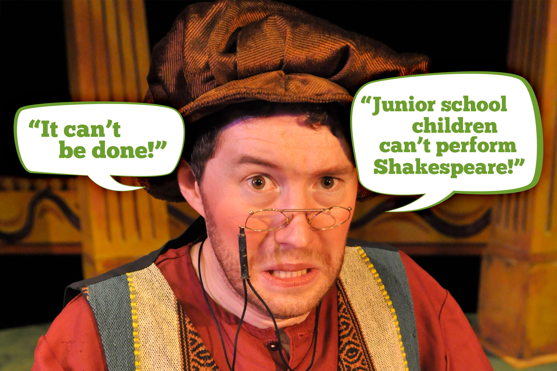 It can't be done! Junior school children can't perform Shakespeare!